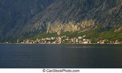 """City """"Dobrota"""" in the Bay of Kotor, Montenegro - City..."""