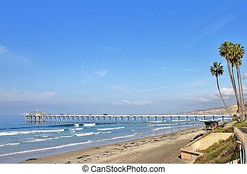 Ellen Browning Scripps Memorial Pier - San Diego - USA