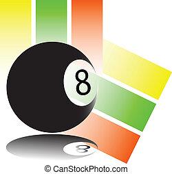ball eight of illustration