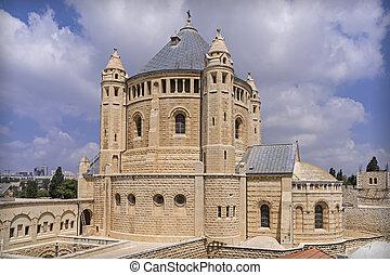 jerusalén, abadía,  dormitio