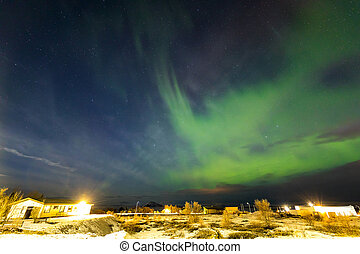 Aurora Borealis Northern Light Iceland - The Northern Light...