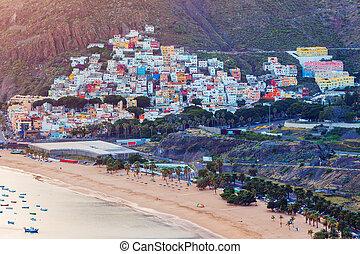 San Andres panorama. San Andres, Santa Cruz de Tenerife....