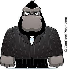 gorila, Traje