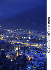 city garmisch in germany - olympic city...