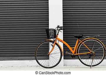 Japanese orange bike