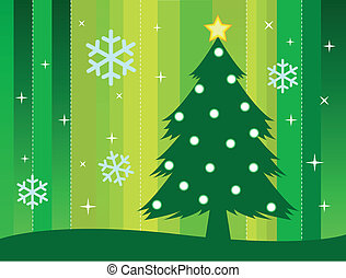 Christmas theme background in vector format