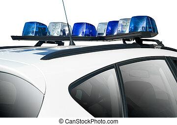 polícia, car