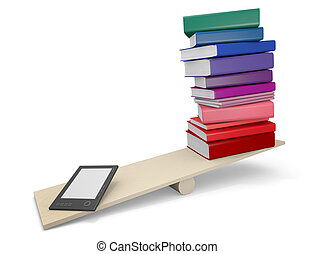 Capacity competition - In terms of capacity, ebook readers...