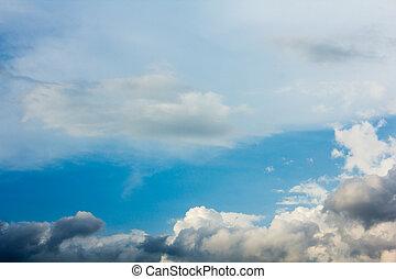 Rain clouds skies