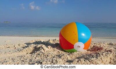 Maldives beautiful beach background white sandy tropical...