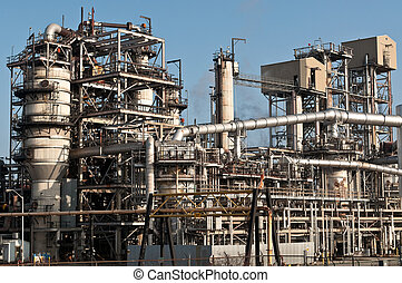 Petrochemical Refinery Plant - A petrochemical refinery...