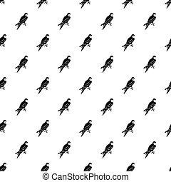 Falcon pattern vector - Falcon pattern seamless in simple...