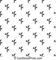 Bamboo pattern vector - Bamboo pattern seamless in simple...