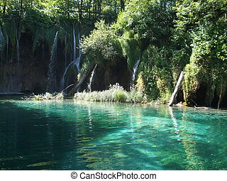 Plitvice lakes - Lake in Plitvice Lakes National Park