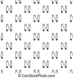 Pins pattern vector - Pins pattern seamless in simple style...
