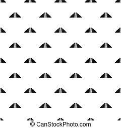 Ziggurat in Chichen Itza pattern vector - Ziggurat in...