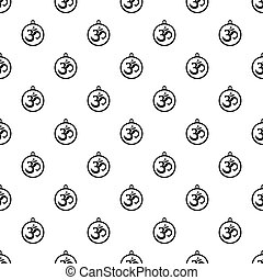 Indian coin pattern vector - Indian coin pattern seamless in...