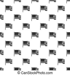 American flag pattern vector