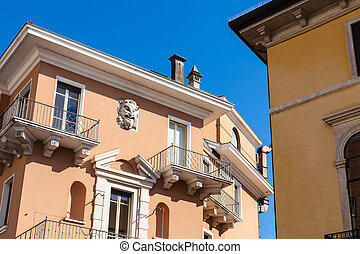 decoration of urban house in Vicenza city - travel to Italy...