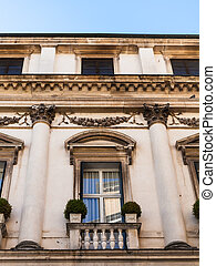 palace on street corso palladio in Vicenza - travel to Italy...