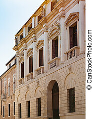 palazzo on street contra porti in Vicenza city - travel to...