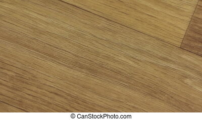 Rotation and zoom of texture of a parquet board. View from...