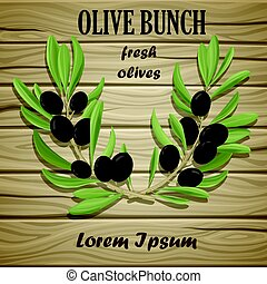 Black Olive Oil Natural Template
