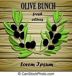 Black Olive Oil Natural Template