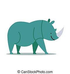 Vector Rhinoceros