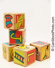toy blocks - wooden toy blocks