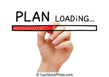 carga, concepto, barra,  plan