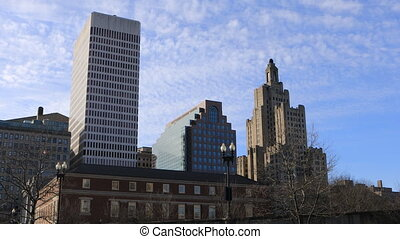 View of downtown Providence - A View of downtown Providence