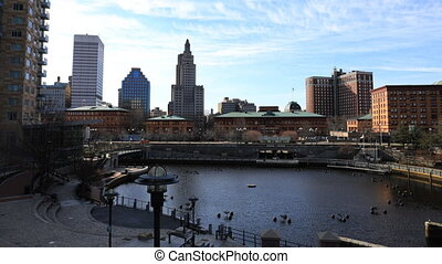 Timelapse of Providence, Rhode Island downtown - A Timelapse...