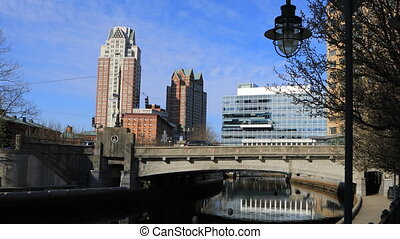 View of downtown Providence, Rhode Island