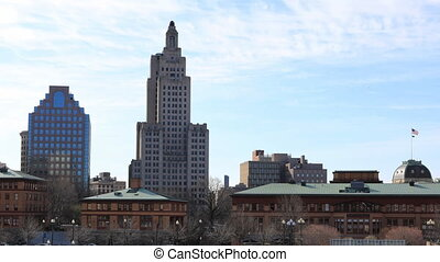 Timelapse of downtown Providence, Rhode Island