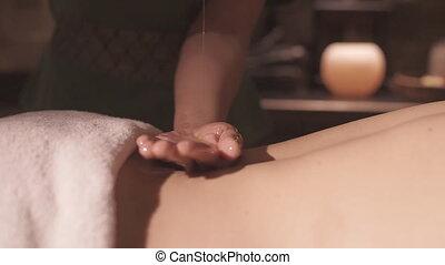 Massage in the Spa Salon