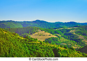 Summer Bulgarian Landscape - Bulgarian Mountain Landscape in...