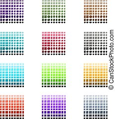 Tile and Stone Color Palette Set - Illustration of Tile and...