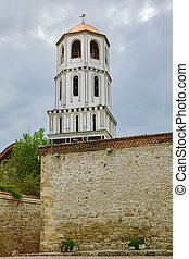 The Bell Tower of Church of St Constantine and Helena in...