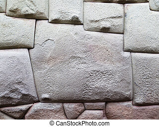 The stone of 12 sides of Cusco Peru - The stone of twelve...