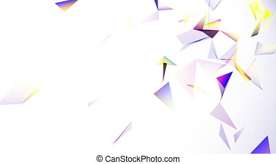 geometrical abstraction, colorful abstract geometric...