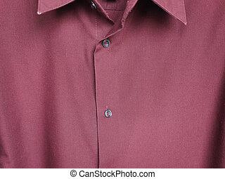 detail of a shirt