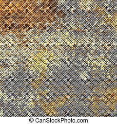Rusted Metal Mesh