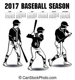 2017 baseball season artwork