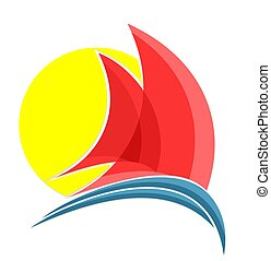 Sailing vessel Logo.