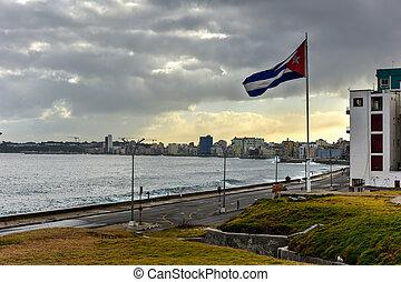 Malecon - Havana, Cuba - The Malecon (officially Avenida de...