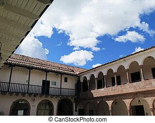 City of Cuzco in Peru