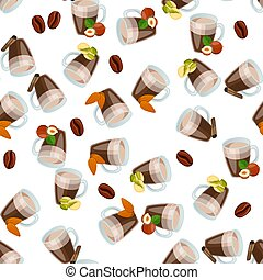 hot chocolate cup - Very high quality original trendy vector...