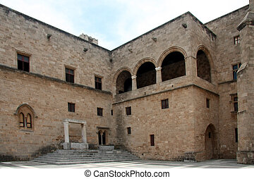 Inner Circle - Grand Master Castle in Rhodes Island