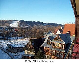 Travel in Zakopane Poland ski resorts